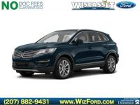 Clean CARFAX. Velvet 2016 Lincoln MKC Select AWD