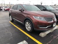 2016 Lincoln MKX Premiere Bronze Fire Metallic Tinted