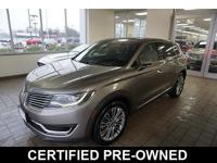 Lincoln Certified Pre-Owned *Carfax One Owner - Carfax