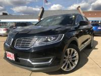 2016 Lincoln MKX Reserve Black Tie Edition, AWD, 20
