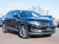 Lincoln Certified. Reserve trim. NAV, Sunroof,