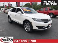 New Price! 2016 Lincoln MKX Reserve CARFAX One-Owner.
