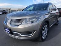 CARFAX One-Owner. 2016 Lincoln MKX Reserve Gray One
