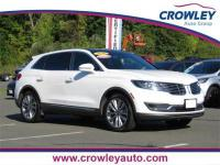 2016 Lincoln MKX Reserve AWD in White Platinum Metallic