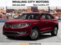 All Wheel Drive! Nav! 2016 Lincoln MKX. Enjoy the