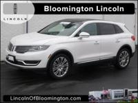 New Price! Certified. 2016 Lincoln MKX Reserve 10