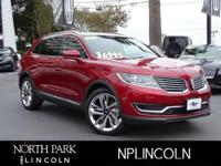 Lincoln Certified. Sunroof, Heated/Cooled Leather