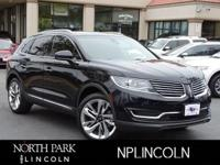 Lincoln Certified, ONLY 17,799 Miles! Nav System,