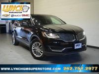 2016 Black Velvet Lincoln MKX Select 6-Speed Automatic