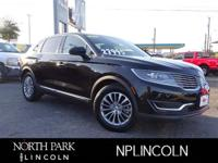 Lincoln Certified. Heated Leather Seats, Onboard