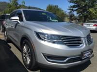 2016 Lincoln MKX Select. Call ASAP! There's no