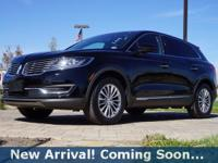2016 Lincoln MKX Select in Black Velvet, This MKX comes
