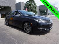 Black Velvet Metallic 2016 Lincoln MKZ FWD 6-Speed