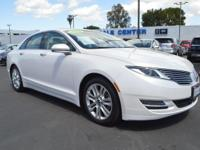 New Arrival! This Lincoln MKZ is CERTIFIED! Low miles