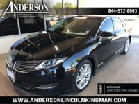 This Lincoln MKZ has a strong Intercooled Turbo Premium