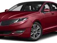 The Lincoln MKZ is simply breathtaking from front to