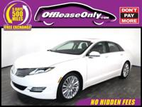 Look No Further! One Owner. This 2016 Lincoln MKZ