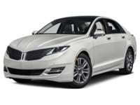 Options:  2016 Lincoln Mkz Base|Miles: 11080Color: