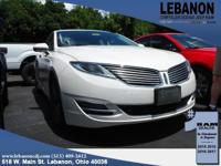 2.0L I4 Atkinson-Cycle iVCT. 2016 Lincoln MKZ Hybrid