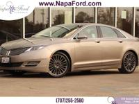 LINCOLN CERTIFIED PRE-OWNED 2016 Lincoln MKZ 2.0L I4
