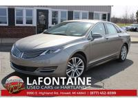 New Price! 2016 Lincoln MKZ FWD TOTAL LUXURY, FULL 180