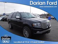 Come into Dorian Ford and check out this 2016 Lincoln