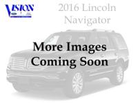 Recent Arrival! Clean CARFAX. Black 2016 Lincoln