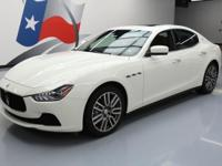 2016 Maserati Ghibli with 3.0L V6 Engine,Automatic