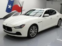 2016 Maserati Ghibli with 3.0L V6 Engine,Leather