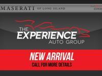 2016 Maserati GranTurismo Convertible Ferrari Maserati