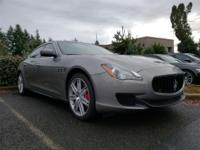 2016 Maserati Quattroporte S Q4 Coming Soon! Call us