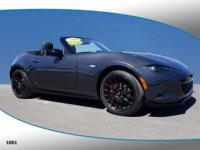 This 2016 Mazda Miata Club in Meteor Gray features: