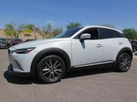 Options:  2016 Mazda Cx-3 Grand Touring|White|New