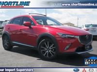 CARFAX One-Owner. Clean CARFAX. Red 2016 Mazda CX-3