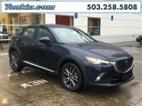 2016 Mazda CX-3 Grand Touring Blue SKYACTIV-G 2.0L