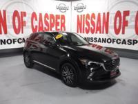 This 2016 Mazda CX-3  has a L4, 2.0L; DOHC 16V high