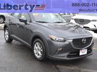 Mazda CX-3. A subcompact crossover SUV, the