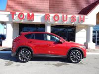 Soul Red Metallic 2016 Mazda CX-5 Grand Touring AWD