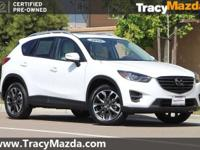 CARFAX One-Owner. Certified. White 2016 Mazda CX-5
