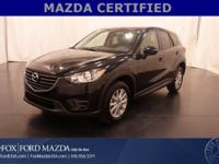 Mazda Certified! AWD, Cloth Interior, Push-Button