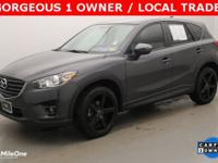 CARFAX One-Owner. Clean CARFAX. Gray 2016 Mazda CX-5