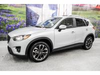 *Turn heads in this sonic silver 2016 Mazda CX-5 Grand