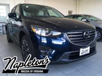 2016 Mazda CX-5 in Crystal Blue, AUX CONNECTION, USB,