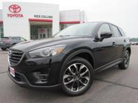 This 2016 Mazda CX-5 comes equipped with power driver's