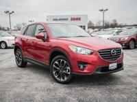 Certified. Soul Red Metallic 2016 Mazda CX-5 Grand