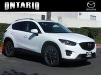 Scores 29 Highway MPG and 24 City MPG! This Mazda CX-5