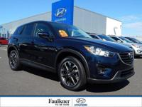 CX-5 Grand Touring trim. CARFAX 1-Owner, Faulkner