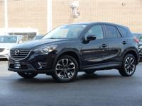 Certified. 2016 Mazda CX-5 Jet Black Mica Grand Touring