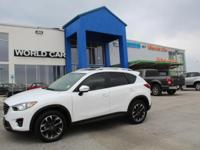 CARFAX 1-Owner. EPA 33 MPG Hwy/26 MPG City! CX-5 Grand