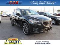 This 1 OWNER, 2016 Mazda CX-5 Grand Touring in Jet